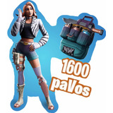 Fortnite: 1000 Pavos Y Wilde Pack