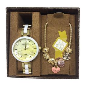 Kit De Relógio Mondaine Feminino 76881lpmvde1