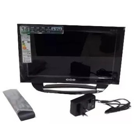 Tv/monitor Led 14 Hd Cce Ln14g C/ Conversor - Não Funciona
