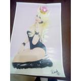 Poster De Windy Girk Autografiados