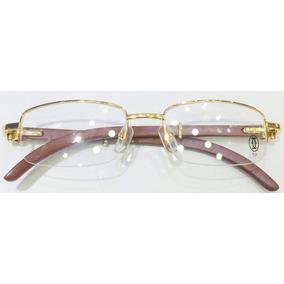 Armação Óculos Cartier - Óculos no Mercado Livre Brasil 115c37d42a