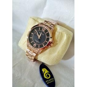 b6070d7ef56 Relogio Atlantis Rose Feminino - Joias e Relógios no Mercado Livre ...