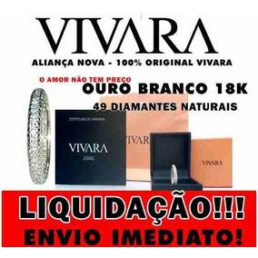 Aliancas De Compromisso Vivara - Joias e Bijuterias no Mercado Livre ... 8d68daedd4ada