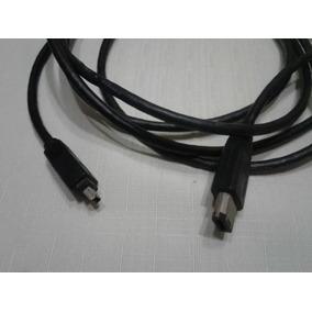 Cable Firewire De 4p A 6p 3mts