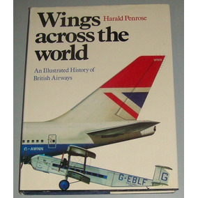 Avião - Livro Wings Across The World - Ba History ( Inglês )
