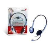 Auriculares Genius Con Microfono Hs-02b Skype Tienda
