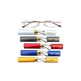 93ac55c17c353 Óculos Para Leitura Portátil Com Estojo - Óculos no Mercado Livre Brasil