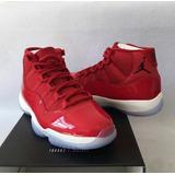 Jordan 11 Gym/red Charol
