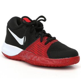 Tenis Nike Zoom Assersion Negro Rojo Basket