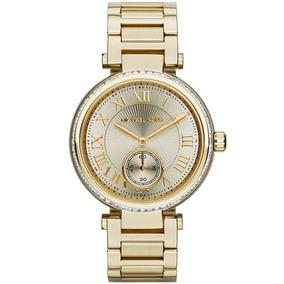 Relógio Michael Kors Skylar Gold Tone Mk5867/4dn