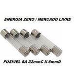 Fusivel 8a 32mmc X 6mmd Pac 6 Unid Cod.fuz0210 Frete Cr