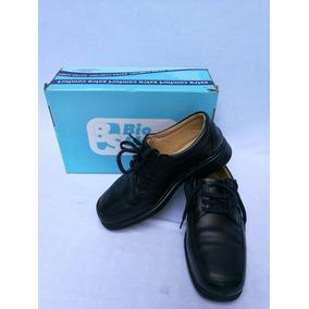 Zapato Confort Bio Shoes Negro Diabetico