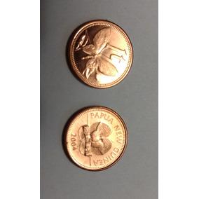 1 Toea De Papúa Nueva Guinea Moneda, No Subasta