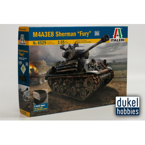 Italeri 1/35 M4a3e8 Sherman Fury (6529) Dukel Hobbies