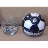 Copo Para Whisky + Cofre Bola Produto Oficial Botafogo Fr 709cc73088244