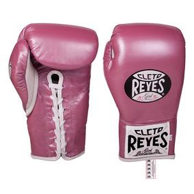 Guantes De Box Profesional Cleto Reyes Safetecpiel/10oz/410p