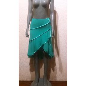 Falda Elegante Cruzada Asimétrica Para Dama