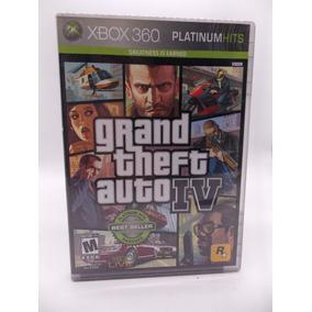 Gta 4 Xbox 360 E Xbox One Original Mídia Física