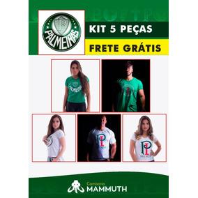 b72ecf96b3 Camisa Palmeiras Kit Misto 5 Peças Frete Grátis Cód1
