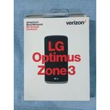 Telefono Celular Lg Optimus. Zona 3. Verizon Liberados