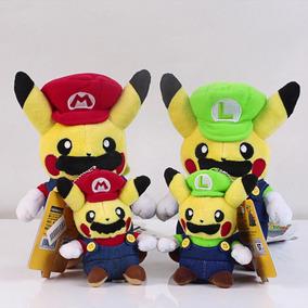Regalo De Navidad De Pokemon Pikachu Super Mario Luigi -6497