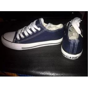 Zapatos Tipo Conver Azul Oscuro Baratos 6d5b05d7e914