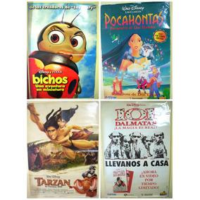 Posters Gigantes Disney Clásicos Pocahontas Bichos Tarzán