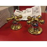 Manarles Oro American Standard Retro Acero Alto Calibre