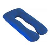 Almohada Para Embarazo Y Maternidad Azul Rey (1.50x75cms)