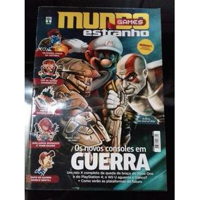 Revista: Mundo Estranho Games N°1 Ao6 E Outras Revistas!