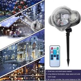 be05e22dfe6 Proyector Simulador De Nieve Decoracion Navidad Fiestas en Mercado ...