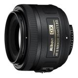 Nikkor Af-s Dx 35mm F/1.8g 1 Año Garantia Oficial Nikon