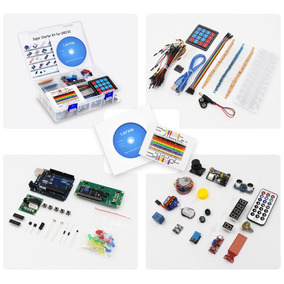Arduino Uno Completo Kit Arduino Com Manual + Maleta Brinde
