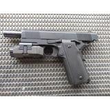 Lanterna Pistola Airsoft Gbb Taurus Imbel Glock + Brindes.