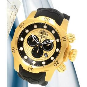 e4aca285ae4 Invicta Venom 20443 Plaque Ouro Cronógrafo Suíço. 3 vendidos - São Paulo · Relógio  Invicta Venon 20443 18k - Original Com Certificado