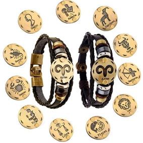 Pulsera Signo Zodiaco Vintage Envio Gratis