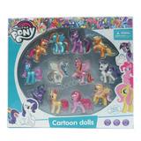Estuche Colección 12 Figuras De My Little Pony 7cm (oferta)