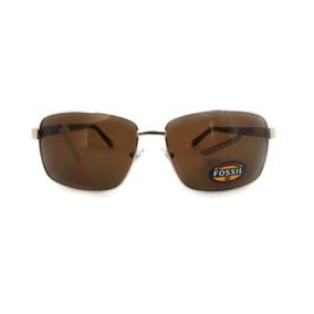 0ac9f8f64a7eb Óculos De Sol Fossil Original Marrom + Frete Grátis