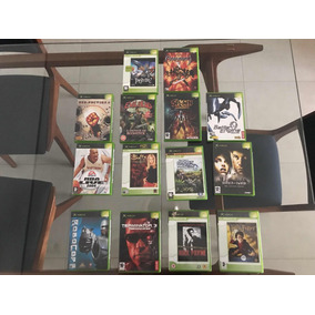 Jogos Xbox Classic Lacrados Para Colecionador Hardcore