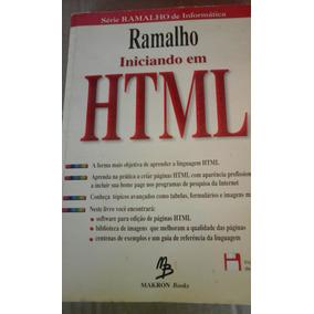 Livro Iniciando Em Html Série Ramalho De Informática