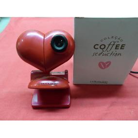 Câmera Web Cam Coleção O Boticário Coffe Seduction