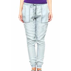 Pantalon Para Mujer Rewind Azul Xs