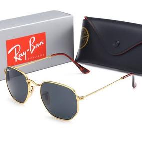 Ray Ban 3548 Hexagonal Preto - Óculos no Mercado Livre Brasil 9d99611ead