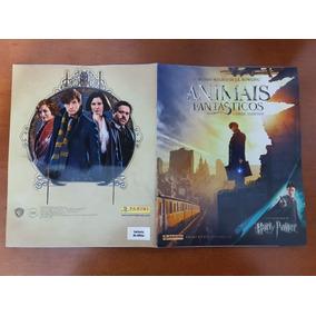 Álbum Duplo Animais Fantásticos Harry Potter Completo Colado