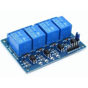 1 Unidades Módulo De Relé 4 Canais Para Arduino