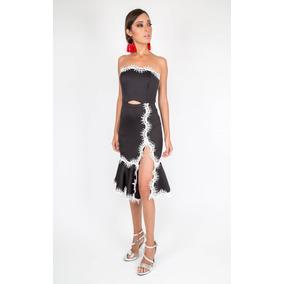 Vestido Reina Diaz Strapples Con Avio Warm 524675