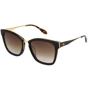 28b8c3b7b012a Oculos De Sol Ana Hickmann 5965 Marrom - Óculos no Mercado Livre Brasil