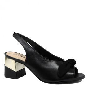2673db623dc Sapato Feminino Zariff Shoes Chanel Laço 1760501