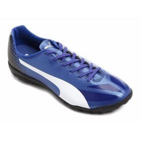 Chuteira Puma Evospeed 1.2. - Chuteiras Azul no Mercado Livre Brasil 9fa680f8ae488