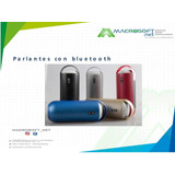 Parlante Multimedia Bluetooth Ml-75u